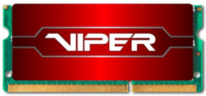 Laptop RAM with red sticker