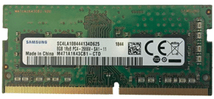 image of DDR4 RAM for laptop