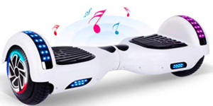 hoverboard's image in white color
