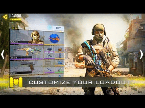 image showing tralor of call of duty mobile game
