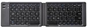 Image of foldable black keyboard