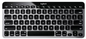 screenshot of silver and black keyboard