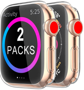 image showing 2 packs of iwatch covers