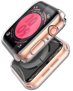 image of twin iwatch5 series with safety case