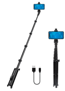 image showing selfie stick with cable