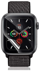 image showing transparent guard for iwatch
