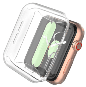 image of transparent iwatch screen cover