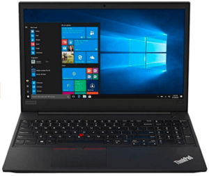 Front View of Lenovo Thinkpad