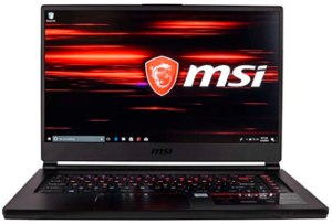 MSI brand laptop with best battery