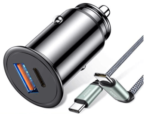 image of dual car charger