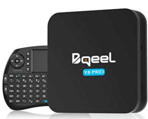 image of Bqueel android set top box
