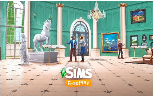 image of sims game app for lockdown