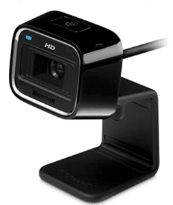 image of Microsoft HD webcam
