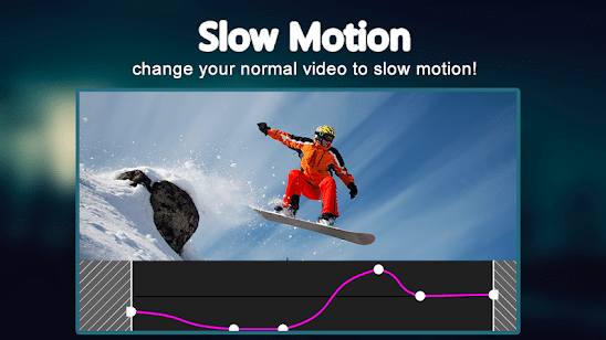 screenshot of slow motion video app for android