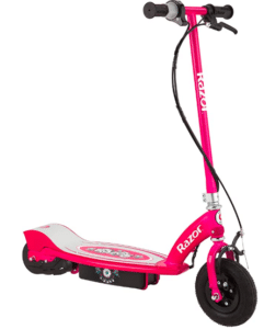 screenshot of red electric scooter