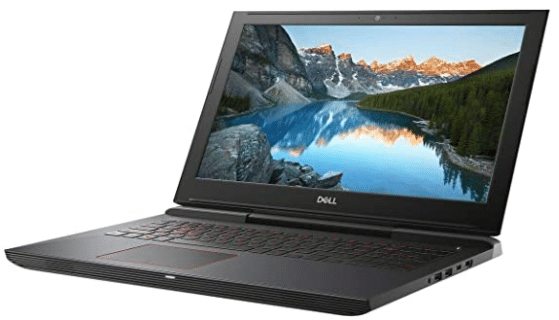 screenshot of dell gaming laptop