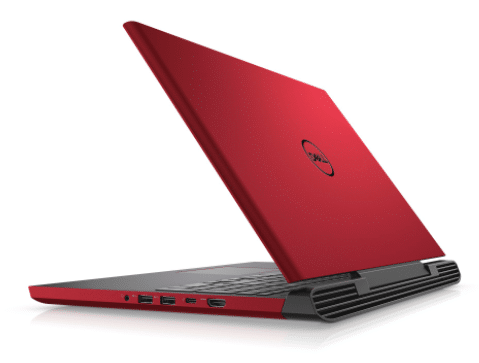 dell gaming laptop in Red color