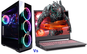gaming desktop vs gaming laptop