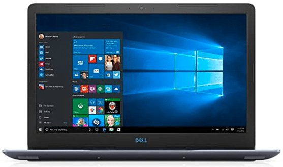 image of laptop from dell brand