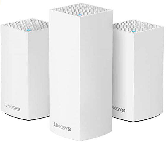 image of white routers mesh Wifi