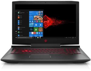 image of HP Omen laptop for gaming