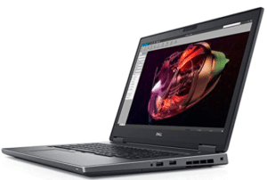 image of dell workstation laptop
