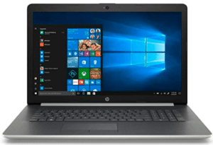 image of 17inches HP laptop