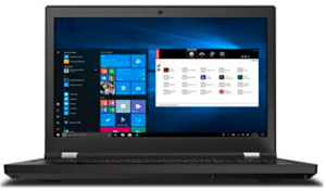image of lenovo workstation laptop