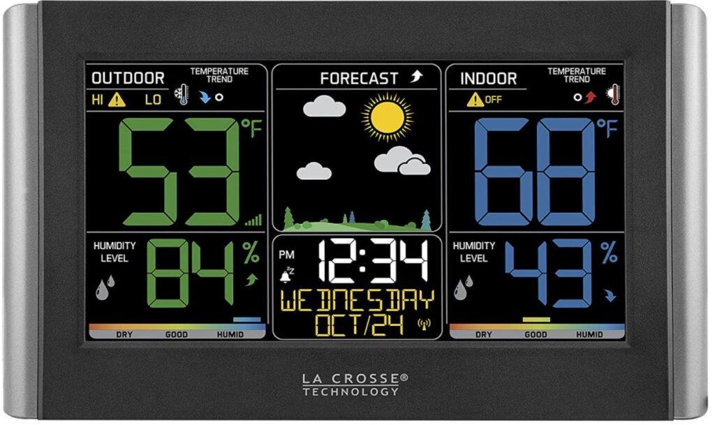 Image of La Crosse Color Forecast station