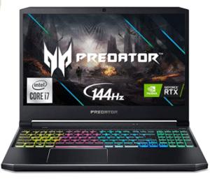 Screenshot of Acer Predator Helios