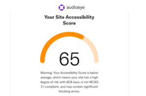 audioeye web accessibility