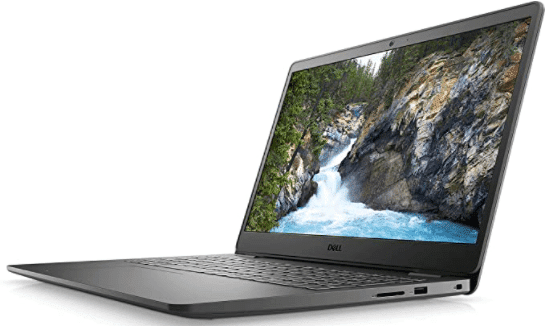 side view of laptop