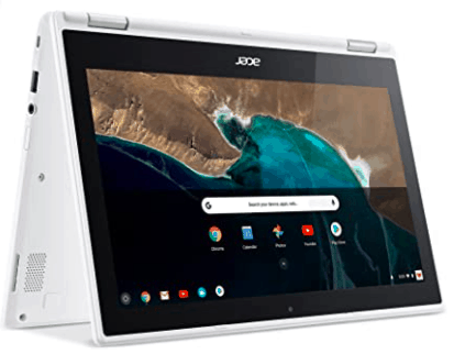 image of acer laptop in two in one form