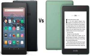 kindle vs fire-tablet