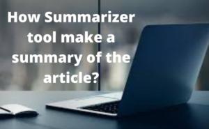 summarizer tool